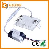 garantie (Ce/RoHS/FCC, 3years) DEL de panneau de 6W de lampe d'éclairage de grand dos de maison d'usine de plafonnier ultra-mince