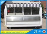 Chariot extérieur de café de restaurant mobile spacieux de Ys-Bf300c 3m