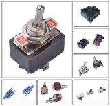 Interruptor Tact LED Iluminado Interruptor táctil de botón táctil de 6 * 6 * 8mm de ángulo recto