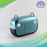 Retro altoparlante esterno impermeabile di Bluetooth 4.0 della cassa di risonanza della borsa FM0163