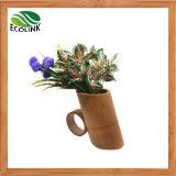 De natuurlijke Planter van het Bamboe van de Pot van het Bamboe Succulente