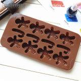 Venda a quente do molde de chocolate de silicone resistente