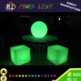 Cube de l'éclairage à LED de plein air rechargeable