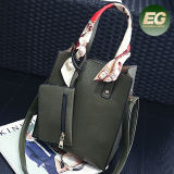 Высокопроизводительные торговые марки женщин больших дамской сумочке онлайновые магазины мягкая женская сумка с шарфы и кошелек Си8219