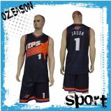 Fabricante chinês Custom Reversible Sublimation Basketball Uniforms for Team (BK002)