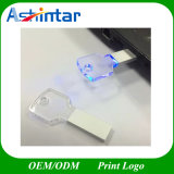 FORM USB-Speicher-Stock LEDusb-Pendrive Schlüsselkristall-USB-Blitz-Laufwerk