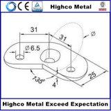 Corrimano/balaustra dell'acciaio inossidabile con il piatto di Mouont della parete