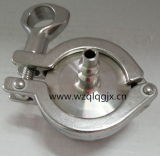Sanitarios higiénicos de soplado de aire en acero inoxidable de la válvula de retención de no retorno