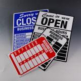 De UV Afgedrukte Kleefstof Gesteunde Sticker van Lexan van de Spiegel