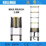 het Vouwen van 3.8m (12.5FT) beklimt de Telescopische Ladder van het Aluminium