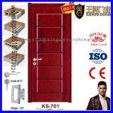 Puerta de madera de lujo del diseño del frente del sitio casero