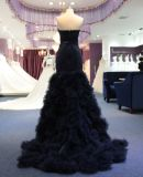 New Arrival Mermaid Black Evening Party Dress