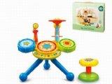 Stuk speelgoed van de Baby van de Trommels van de Jazz van jonge geitjes het Plastic Onderwijs Grote