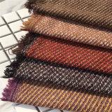 Tweed Tecido Sarjado para vestuário de malha de vestuário, têxteis, Prensa Fabric