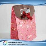 Sacchetto di elemento portante impaccante stampato del documento per i vestiti del regalo di acquisto (XC-bgg-016)