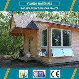 Casa moderna prefabricada de acero ligera simple barata del chalet de Sturcture pequeña