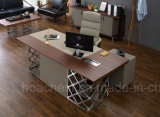 Alto scrittorio di legno commerciale popolare di buona qualità (V25)