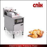 Gran pollo de la calidad de Cnix Pfe-600 que fríe la sartén de la presión de la máquina
