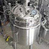 Excellente circulation avec la pompe du réservoir de mélange de chauffage pour les produits pharmaceutiques