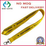 Personifizierte gedruckte Abzuglinie mit Firmenzeichen für förderndes Geschenk
