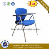 熱い販売ファブリック学生のライティング・テーブルのパッド(HX-TRC006)が付いている折る教室の椅子