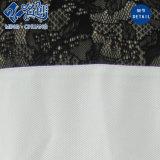 Серебряная свободная кофточка повелительниц способа Коротк-Втулки перспективы шнурка V-Шеи