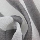 Ткань диаграммы нашивки и ткань Crinkle плиссированные полиэфиром для одежды способа