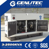 물은 2개의 실린더 침묵하는 유형 디젤 엔진 발전기 세트 16kw 20kVA를 냉각했다