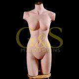 Mannequins femminili del busto del silicone della visualizzazione della biancheria intima (GSSLM-003)