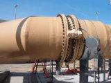 De Pijp/de Buis van het gas die van Glasvezel voor Chemisch product of Milieu wordt gemaakt