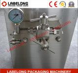 Homogénisateur de jus de lait dans la machine de remplissage