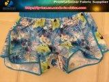 Tissu d'impression extensible 75D 4 voies, tissu 100% polyester Spandex