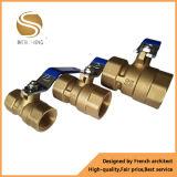 3 robinet à tournant sphérique bon marché de pouce Dn80