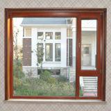 Finestra di alluminio di vetro Tempered del doppio di alta qualità di Foshan Woodwin