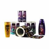 L'impression de haute qualité étiquette auto-adhésif autocollant pour le shampooing l'emballage