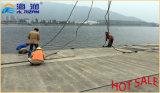 Riciclare la piattaforma di galleggiamento del pontone modulare di plastica dalla Cina