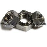 Noix soudée par hexagone de soudure d'acier du carbone de la pente 4.8