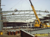 Structurele het Staal van het Project van de Structuur van het Staal van de Bouw van de Structuur van het staal