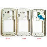 Samsungギャラクシー壮大な2 G7102 G7106中間の版フレームの斜面Housing+PowerボリュームButton+Cameraガラスレンズのため