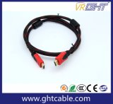 Kabel der 1m Qualitäts-HDMI mit Nyloneinfassung 1.4V (D001A)
