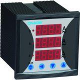 Medidor de corrente trifásica com tamanho de alarme 72*72 AC5um Ajustável do CT