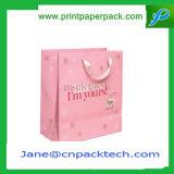 Sac à provisions fait sur commande de sacs à main de cadeau de mode de logo d'impression