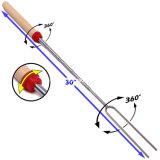 Ручки Roasting проскурняка масштабируемой вилки BBQ телескопичные