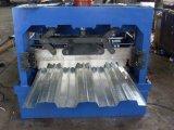 Decking do assoalho da folha de metal que dá forma à maquinaria