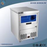 Blaues helles Edelstahl-Kostenzähler-Tisch-Prüftisch-Cer-anerkannter Eis-Maschinen-Eis-Hersteller