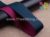 El doble hizo frente a las correas de nylon de los colores para la correa del bolso