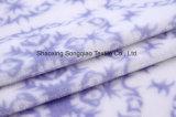 Flanelle estampée de polyester/tissu de corail -15530-2 1# d'ouatine