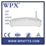 1GE 3fe WiFi GPON avec fonctions de Huawei Hg8546m ONU