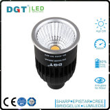 8W COB LED MR16 de la lámpara de GU10