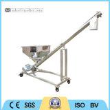 Banheira de venda do transportador de parafuso de ângulo ajustável